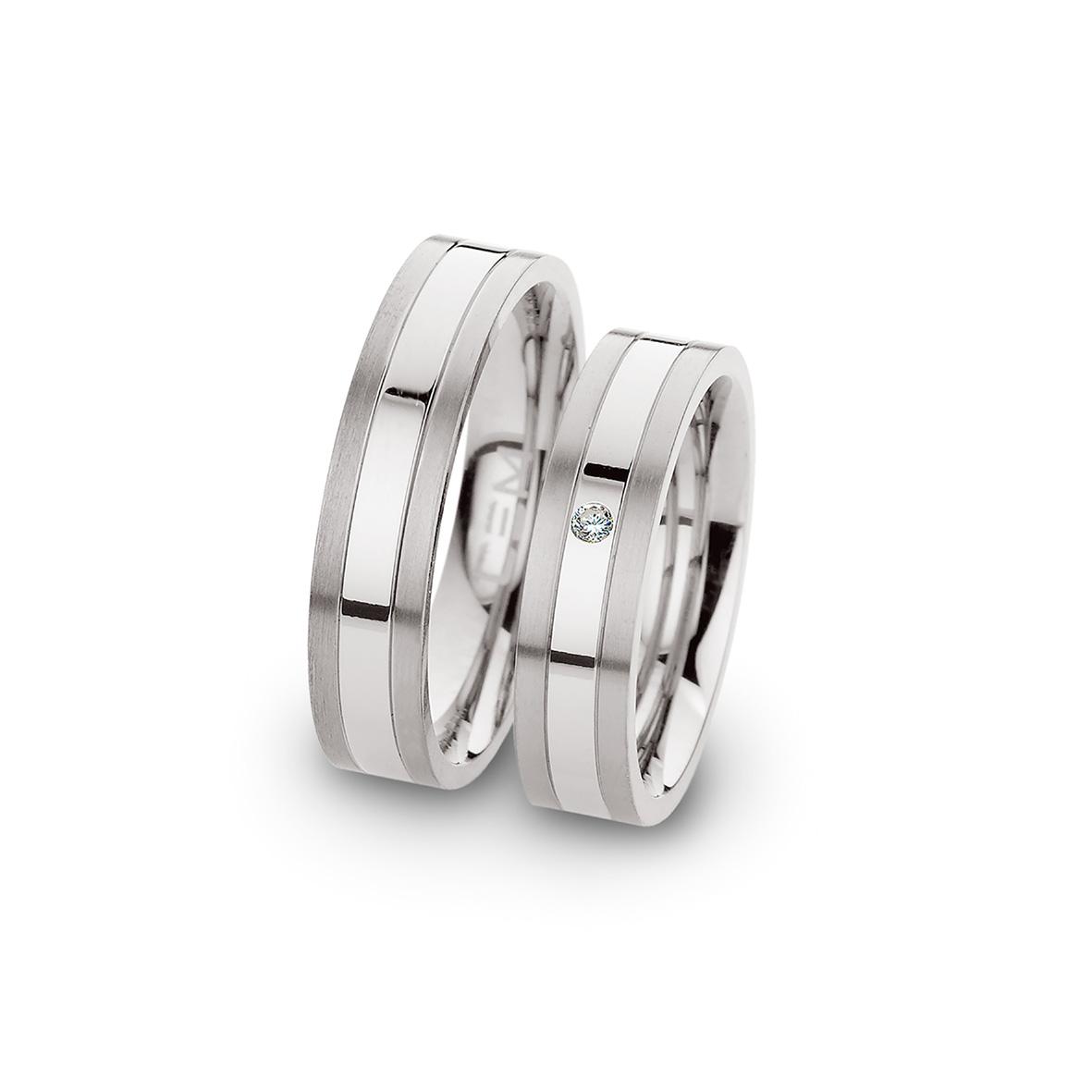 Verlobungsringe Partnerringe | Verlobungsringe Und Partnerringe Aus Silber Stahl Oder Titan Mit